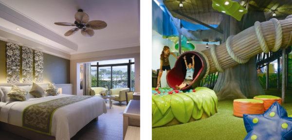 シャングリラズ・ラサ・セントーサ・ホテルの部屋&プレイルーム