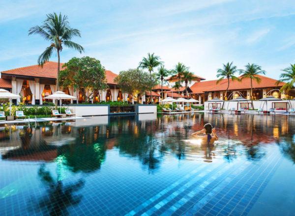 ソフィテル・シンガポール・セントーサ・リゾート&スパのプール