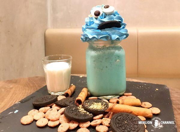 インスタ映えする「Cookie Monster Shake」