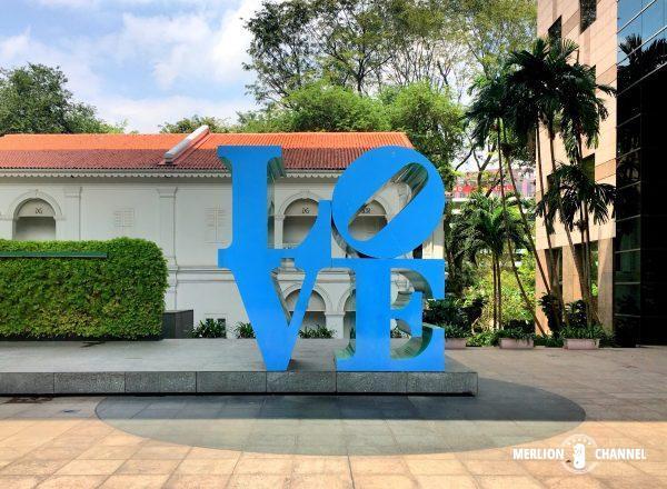 ロバート・インディアナのアート「Love」