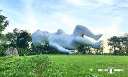 マーク・クインのアート作品「惑星(Planet)」