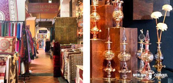 中東のバザールの雰囲気漂うアラブストリート