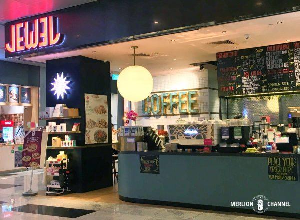 CBDにあるJewel Coffeeの店舗