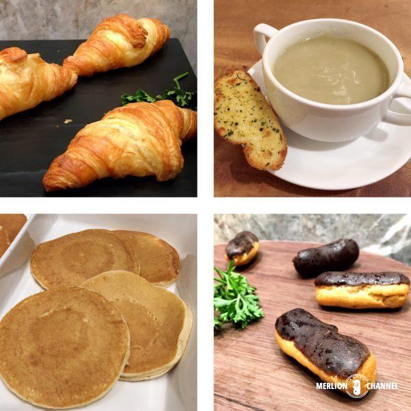 ジュエル「チャンギラウンジ」の朝食
