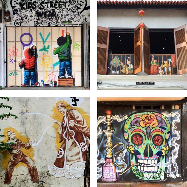 ジョホールバルのストリートアート