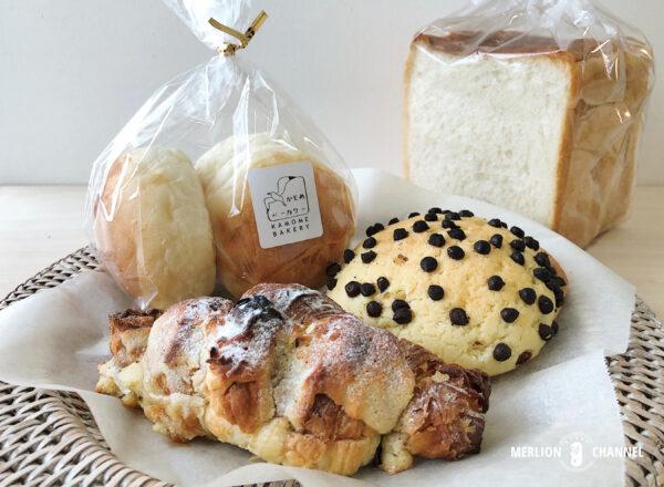 「かもめベーカリー(Kamome Bakery)」かもめトーストやメロンパンなど