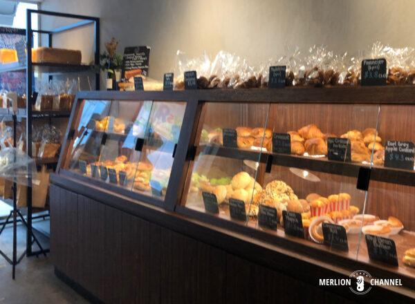 「かもめベーカリー(Kamome Bakery)」の棚