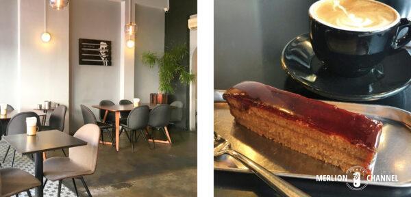 カトンのレトロモダンなカフェ「シンポポ・ブランド」