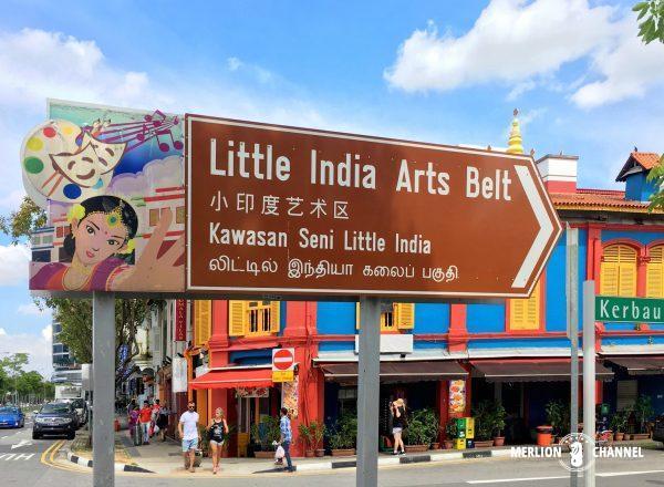 リトルインディアのKerbau Rd