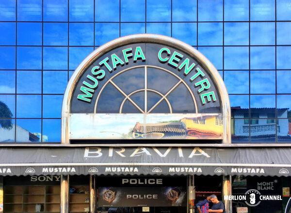 リトルインディアにあるお土産の殿堂「ムスタファセンター」