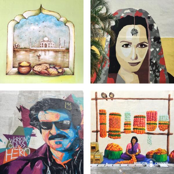 リトルインディアのストリートアート