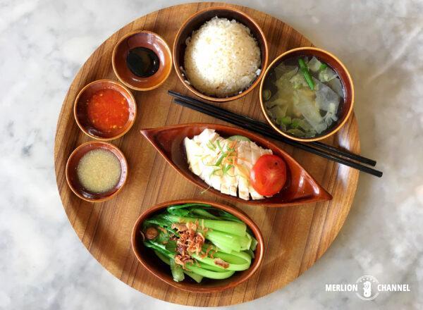 ロイキー・ベスト・チキンライス(Loy Kee Best Chicken Rice)スペシャル・セットのワンプレート