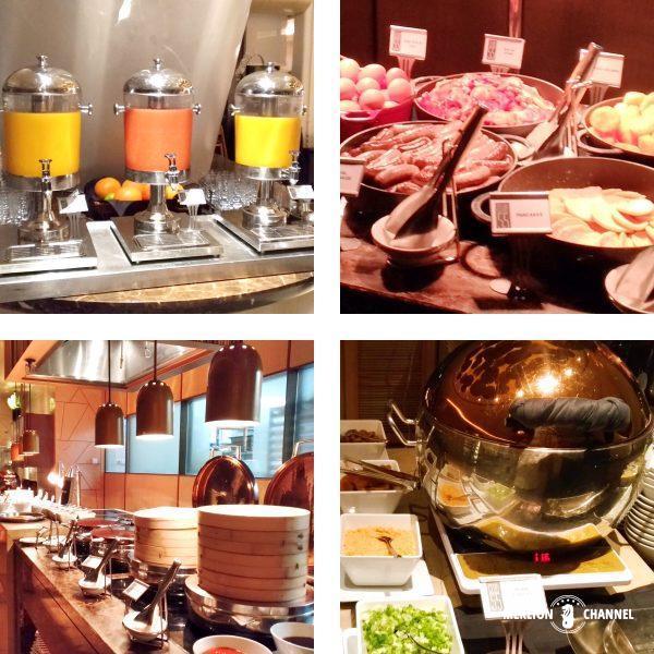 マリーナベイサンズ「Club55」の朝食ビュッフェ