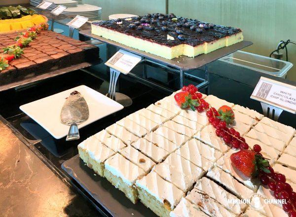 マリーナベイサンズ「Club55」のケーキ