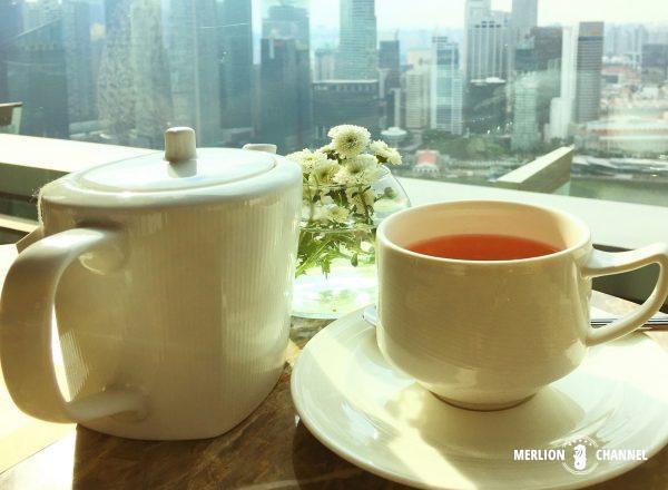 マリーナベイサンズ「Club55」紅茶