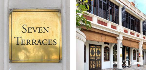 ブティックホテル「セブン・テラシズ」の入口外観