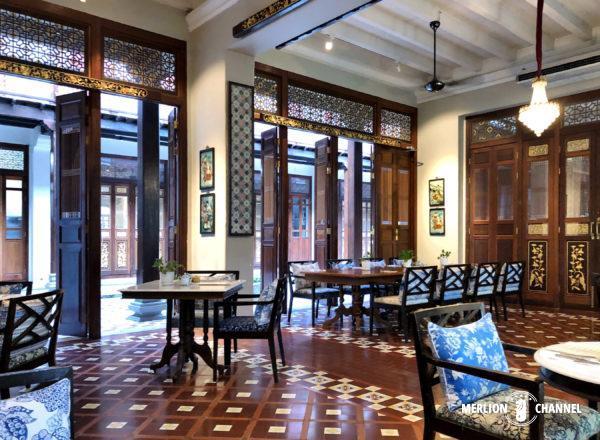 ブティックホテル「セブン・テラシズ」の朝食レストラン