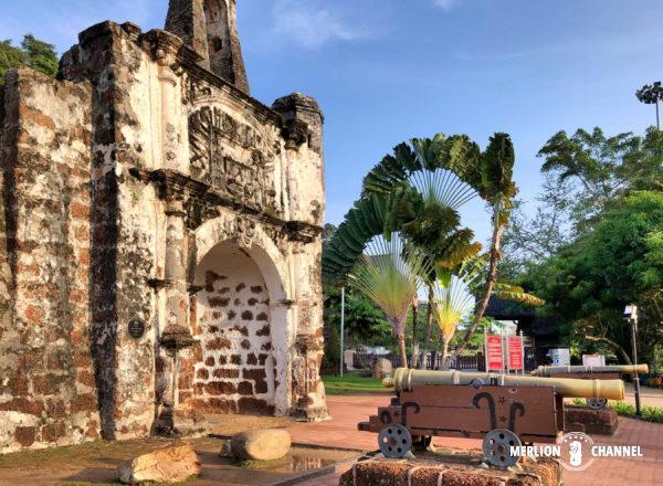 ファモサ要塞跡(A' Famosa) /サンチャゴ砦(Porta de Santiago)