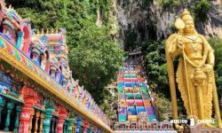 ヒンドゥー教の聖地「バトゥ洞窟」