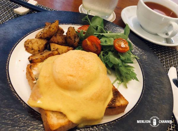 「ブルーマンション」の朝食
