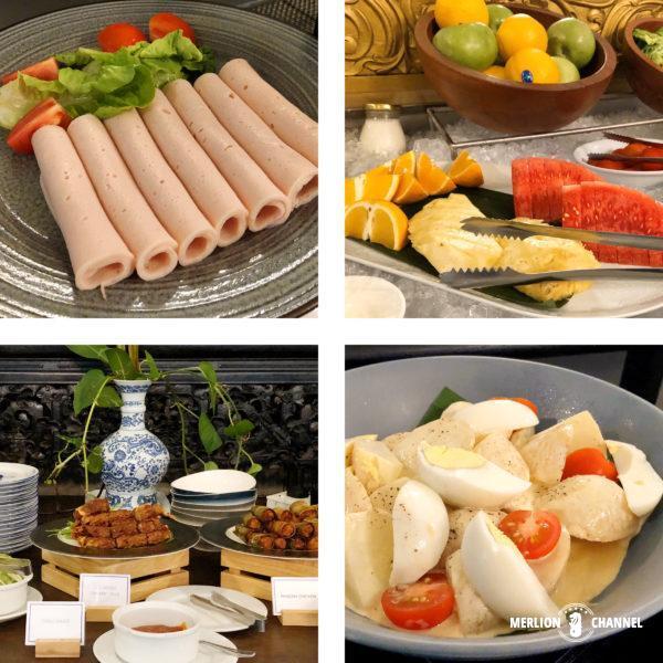 ブルーマンションこと「チョン・ファッツィー・マンション」の朝食ビュッフェ