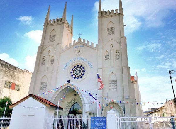 マラッカの「セント・フランシス ・ザビエル教会」
