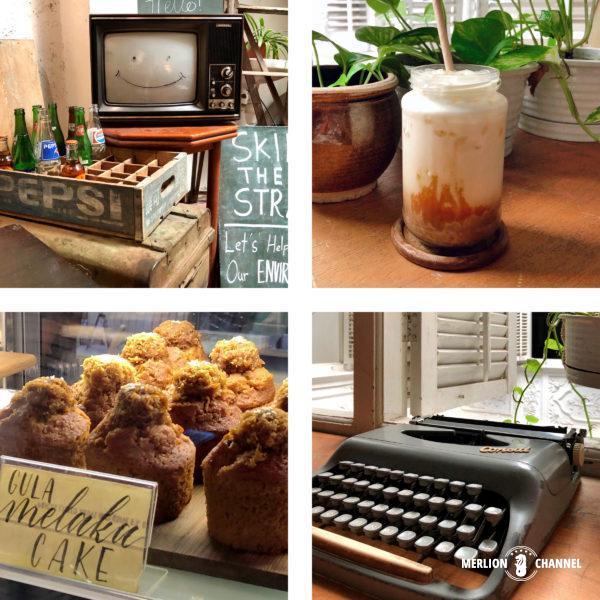 マラッカのカフェ「デイリーフィックス(The Daily Fix)」インテリア