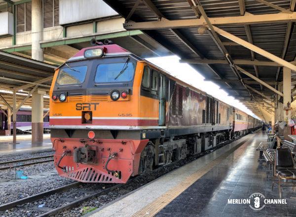 タイ国鉄の寝台特急No.45