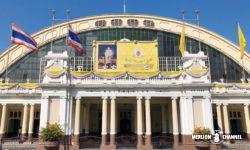タイ国鉄のバンコク中央駅「フアランポーン駅」