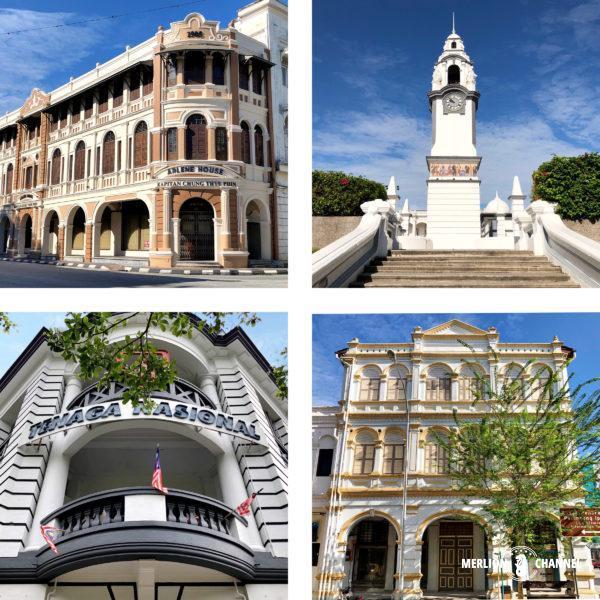 イポー旧市街の歴史的建造物群