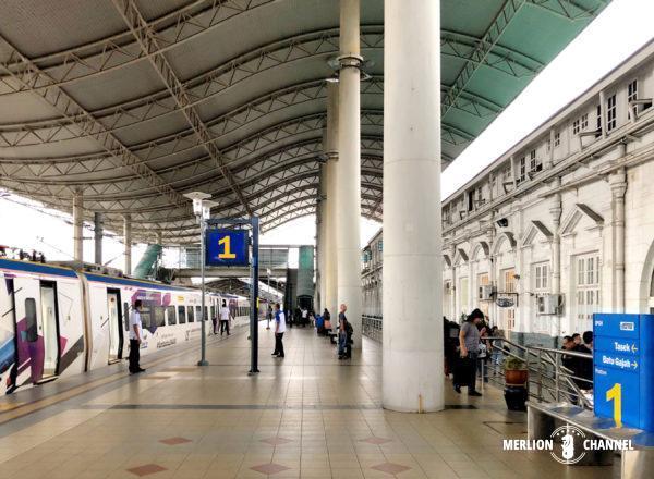 イポー駅のプラットフォーム