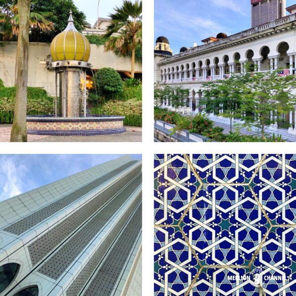 イスラム建築の美しい模様や意匠