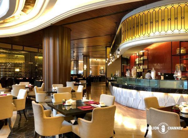 「ザ・マジェスティックホテル・クアラルンプール」新館1階の朝食レストラン