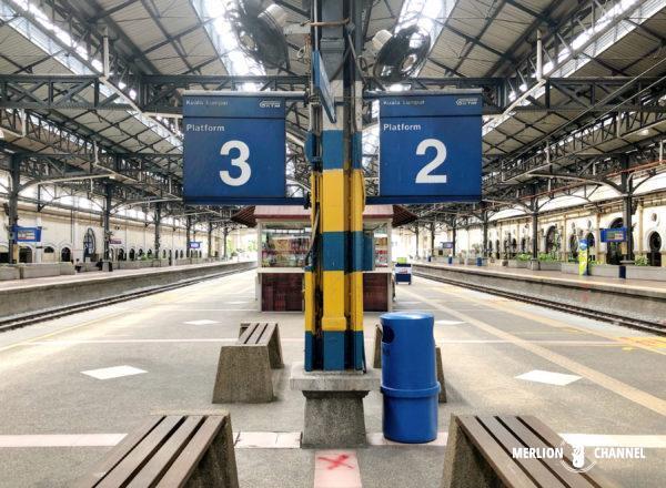 クアラルンプール駅の2番ホーム