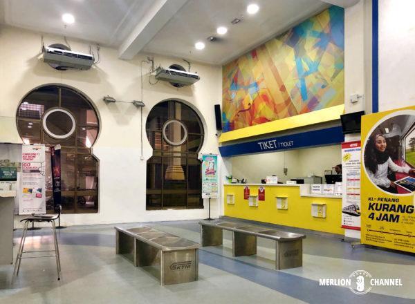 クアラルンプール駅の待合室