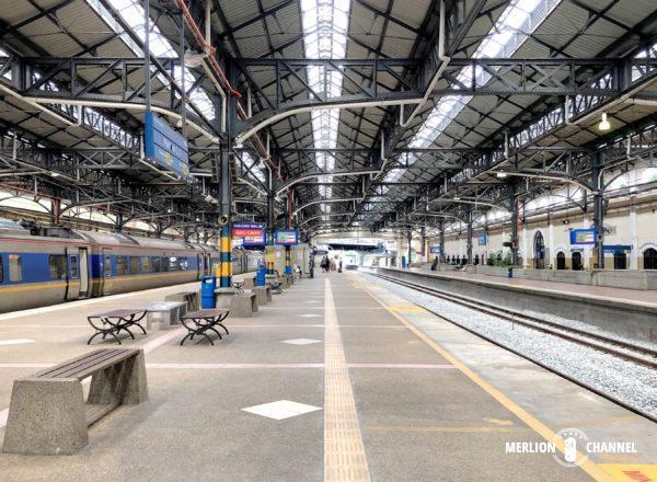 クアラルンプール駅のプラットフォーム