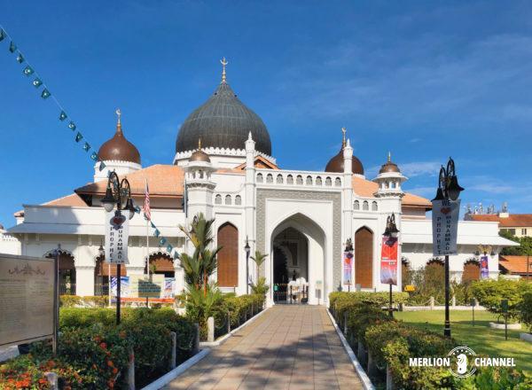 ペナン島のジョージタウンにある「カピタン・クリン・モスク」