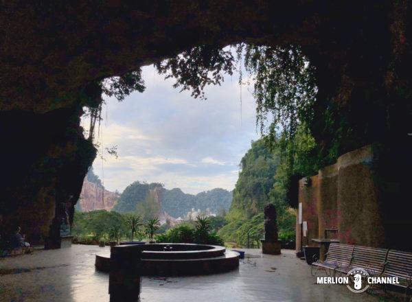 イポーの洞窟寺院「ケロットン(極楽洞)」の大空洞