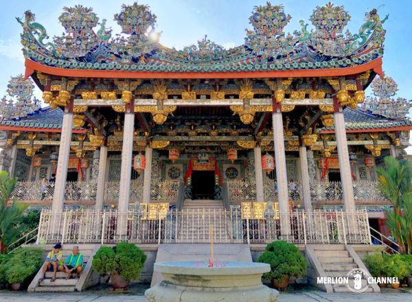 邱(クー)一族の先祖を祀る廟「クーコンシー」
