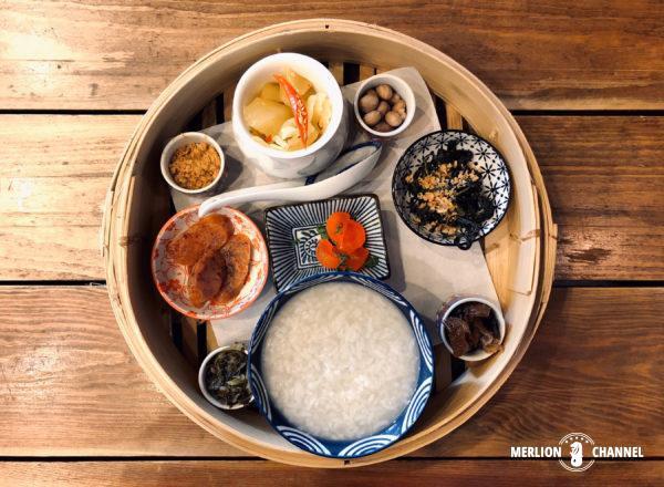 Lhong Tou Cafeのお粥セット