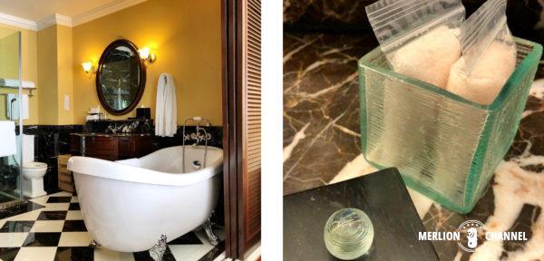 マラッカの老舗ホテル「ザ・マジェスティック 」のバスルーム