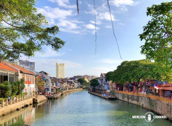 マラッカの街を流れる「マラッカ川」