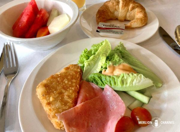 「ザ・マジェスティック」の朝食ビュッフェ