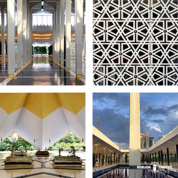 マレーシア国立モスクの内部