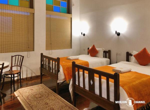 イポーのホテル「サラン・パロー」の部屋