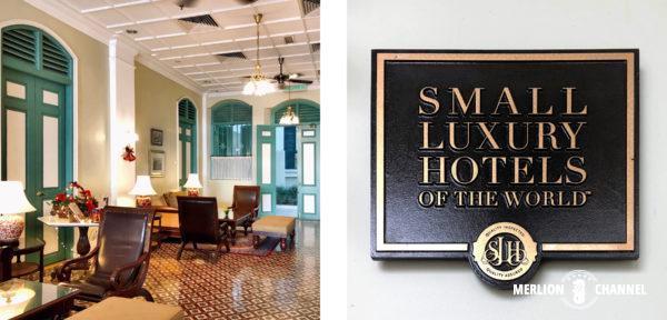 マラッカの老舗ホテル「ザ・マジェスティック 」のロビー