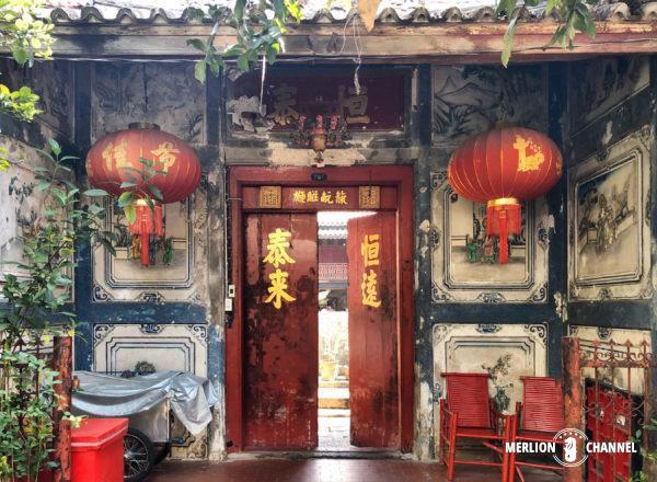 中国の宮殿様式で建てられた築200年の邸宅「So Heng Tai」