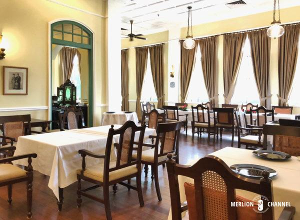 「ザ・マジェスティック」の朝食レストラン「ザ・マンション」