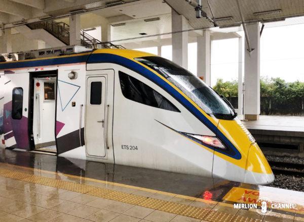 バタワースからイポーへのKTM電車