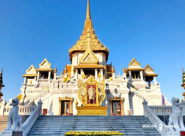 バンコクの中華街にある「ワット・トライミット(黄金仏寺院)」